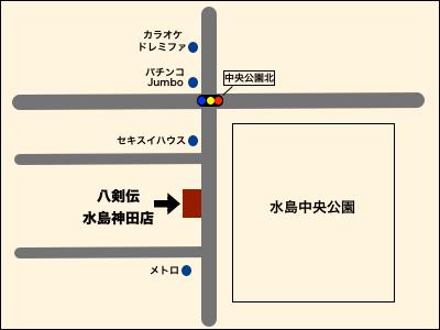 水島神田店地図